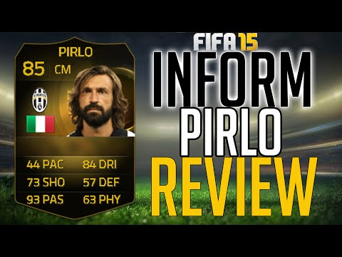 FIFA 15: IF PIRLO REVIEW (85) + INGAME STATS! FIFA 15 PLAYER REVIEW