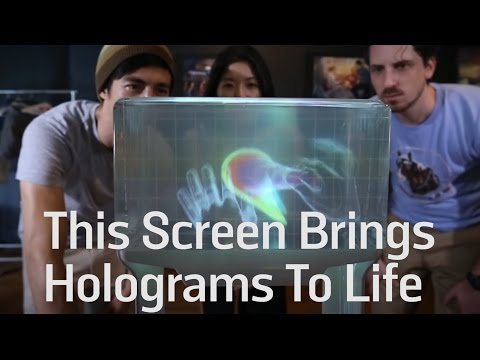 This Screen Brings Holograms To Life