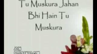 tu muskura full song lyrics - yuvvraj new hindi movie 2008