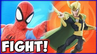 DISNEY INFINITY 3.0 MARVEL - FIGHT! - LOKI vs. SPIDER-MAN!