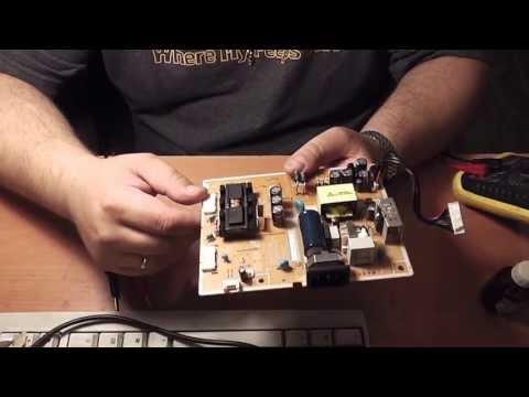 Ремонтируем LCD (TFT) монитор Samsung