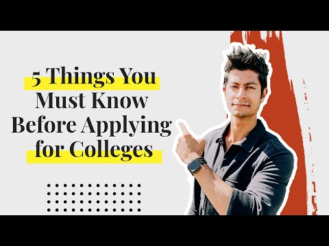 Colleges In Canada For International Students I 5 Things You Must Know Before You Apply For College
