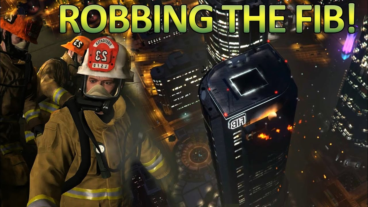 Gta 5 pc missions the bureau raid fire crew for Bureau raid crew