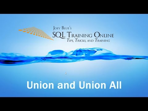 SQL Union And Union All - SQL Training Online