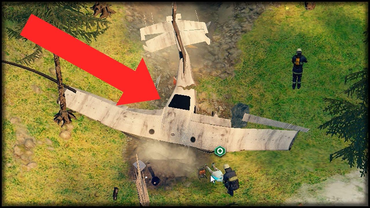 Spiel Flugzeugabsturz