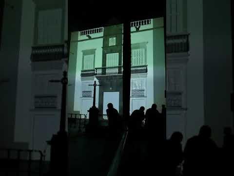 Vídeo Mapping del Espacio Cultural CajaCanarias de Santa Cruz de la Palma.