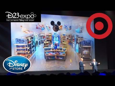 Fisher - The Disney Store Is Coming To Target In October