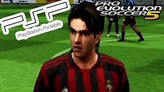 PES 5 on PSP! - A.C. Milan vs Inter Milan