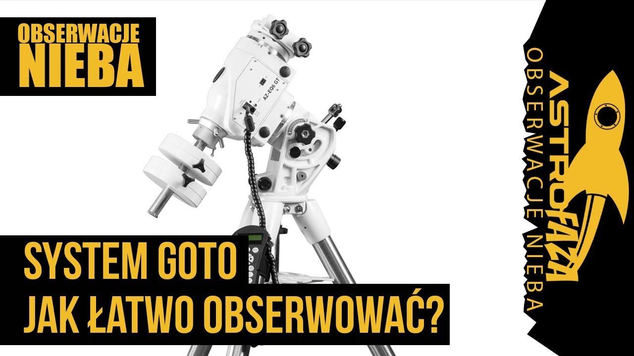 System GOTO, niech teleskop szuka na niebie za nas – Obserwacje Nieba