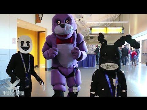BONNIE THE BUNNY At Rhode Island Comic Con 2016