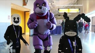 - BONNIE THE BUNNY At Rhode Island Comic Con 2016