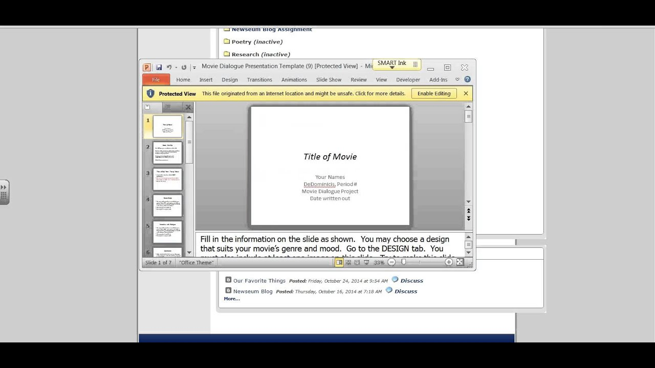 How to turn a PowerPoint file into a Google presentation - YouTube