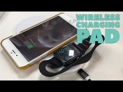 Qi Wireless Charging Pad for Apple Watch and iPhone by iUCare Review