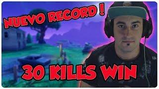 💀 ¡NUEVO RECORD, 30 KILLS WIN! 💀 ~ FORTNITE