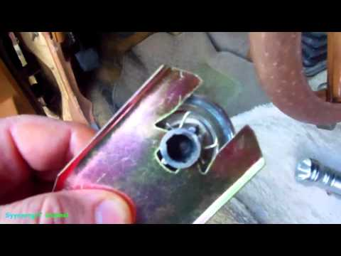Removing Window Crank Handles, 1960's & 1970's cars