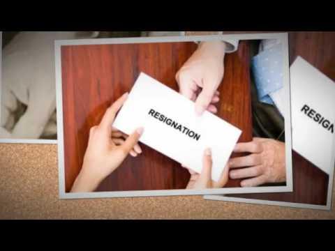 Resignation Letter Sample Youtube
