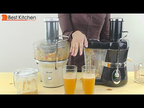 Jack LaLanne Power Juicer Review and Jack Lalanne vs Breville BJE 200xl