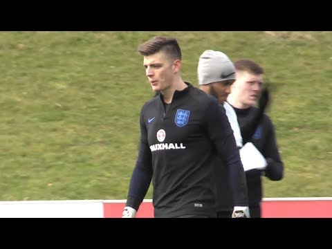 England Squad Train Ahead Of Holland/Italy Friendly Doubleheader