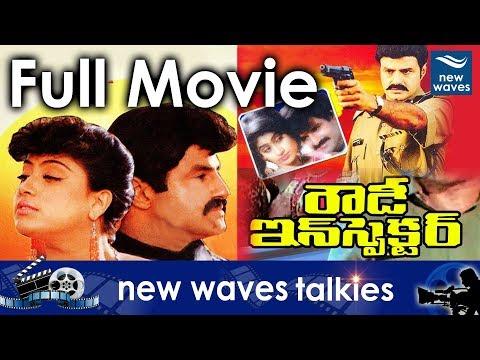 Rowdy Inspector Telugu Full Length Movie | Balakrishna, Vijayashanthi | New Waves