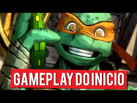 Teenage Mutant Ninja Turtles : Mutants in Manhattan | Gameplay do Início