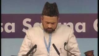 Ahmadiyya : Nazm Bahaar Aaee Hai Jalsa Salaana Qadian 2009 Day 1 Afternoon