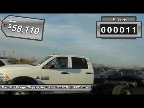 Mac Haik Dodge Temple Tx >> 2017 Ram 4500 Chassis Cab Temple TX HG613304 - YouTube