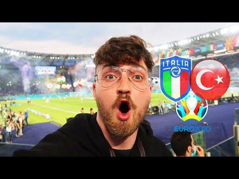 Italien vs. Türkei - Stadionvlog 🇮🇹🇹🇷 | EM-Eröffnungsspiel in Rom - Gänsehaut... | ViscaBarca