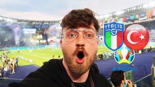 Italien vs. Türkei - Stadionvlog 🇮🇹🇹🇷   EM-Eröffnungsspiel in Rom - Gänsehaut...   ViscaBarca