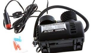 Автомобильный компрессор 12v  из Китая AliExpress  обзор и тестирование(Ссылка на продавца: http://ali.pub/zm9bv или http://bit.ly/1Z63KNO Группа в Контакте: https://vk.com/club73951462 Ссылка на распаковку:..., 2014-07-05T14:31:54.000Z)