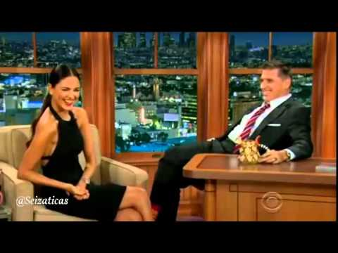 Eiza Gonzalez was interviewed by Craig Ferguson from the Late Late Show