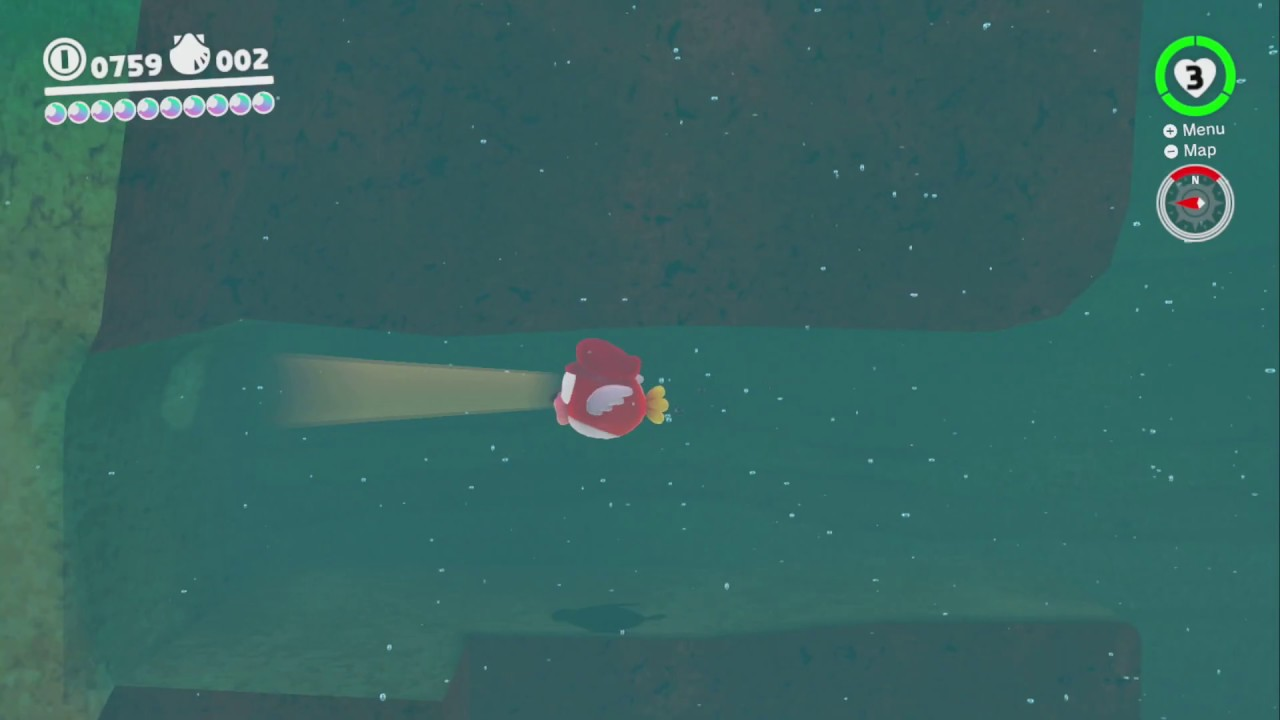 Seaside Kingdom Super Mario Odyssey