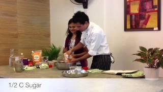 Part 3 - Veganosaurus Baking Demo At Carrots, The Healthy Kitchn And Store