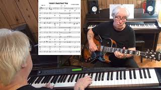 Nobody's Sweetheart Now - Jazz guitar & piano cover ( B. Meyers & E. Schoebel )