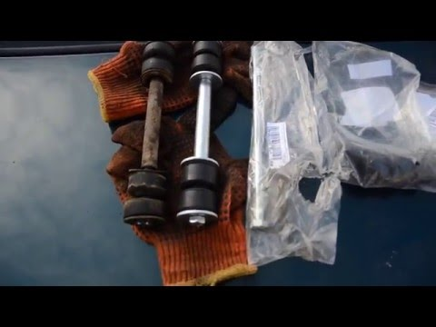 Daewo Chevrolet ЗАЗ Lanos Sens замена стойки стабилизатора поперечной устойчивости