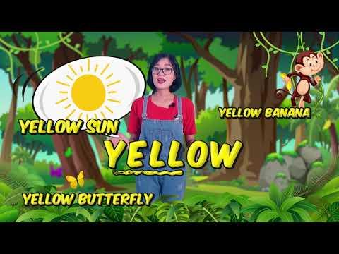 Bé học Tiếng Anh về Màu sắc sinh động cùng cô Jenny TuAnh - Chuồn Chuồn TV 💖💖💖