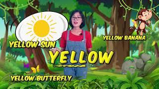 Bé học Tiếng Anh về Màu sắc sinh động cùng cô Jenny TuAnh - Chuồn Chuồn TV ???