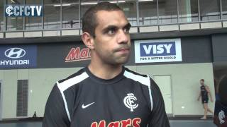 Chris Yarran - NAB Cup Round One