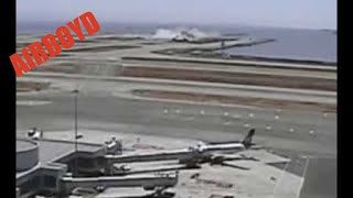 Asiana Airlines Flight 214 Accident CCTV Video