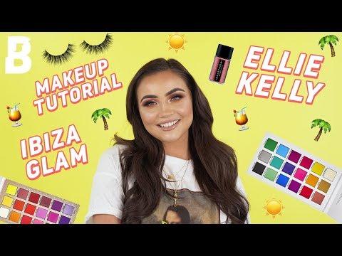 ELLIE KELLY GRWM 🔥✨ POOL PARTY ⛱🍹 IBIZA GLAM 💃☀ | BEAUTY BAY thumbnail