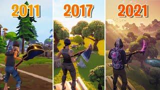 Evolution of Fortnite Graphics (10 Years Comparison)