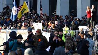 Протесты сторонников оружия | АМЕРИКА | 20.01.20
