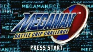 CGRundertow MEGA MAN BATTLE CHIP CHALLENGE for Game Boy Advance Video Game Review