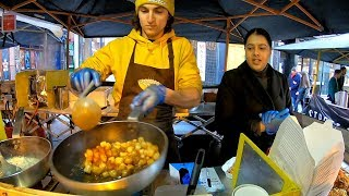 """Italian Dumplings Drenched in Melted Cheese and Italian Sauces. """"Gnocchi"""" London Street Food"""