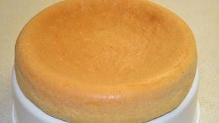 Самый простой и очень  вкусный рецепт  воздушного бисквита в  мультиварке