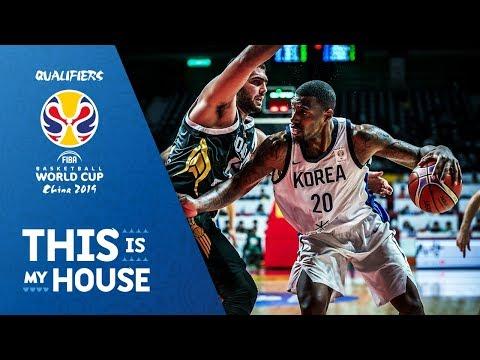 Korea v Jordan - Full Game - FIBA Basketball World Cup 2019 - Asian Qualifiers