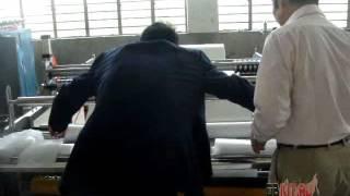 Полуавтоматическая машина для производства влажных салфеток в рулоне2(Производство влажных салфеток для упаковки в пластиковые контейнеры в форме цилиндра., 2016-04-21T09:31:05.000Z)