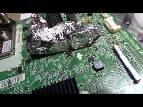 видео: Ремонт телевизора lg 42ln570 Сам выключается, включается