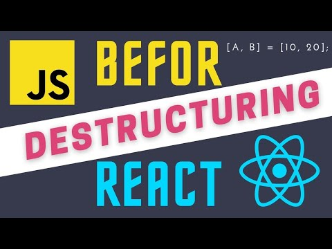 JavaScript Destructuring Arrays and Objects