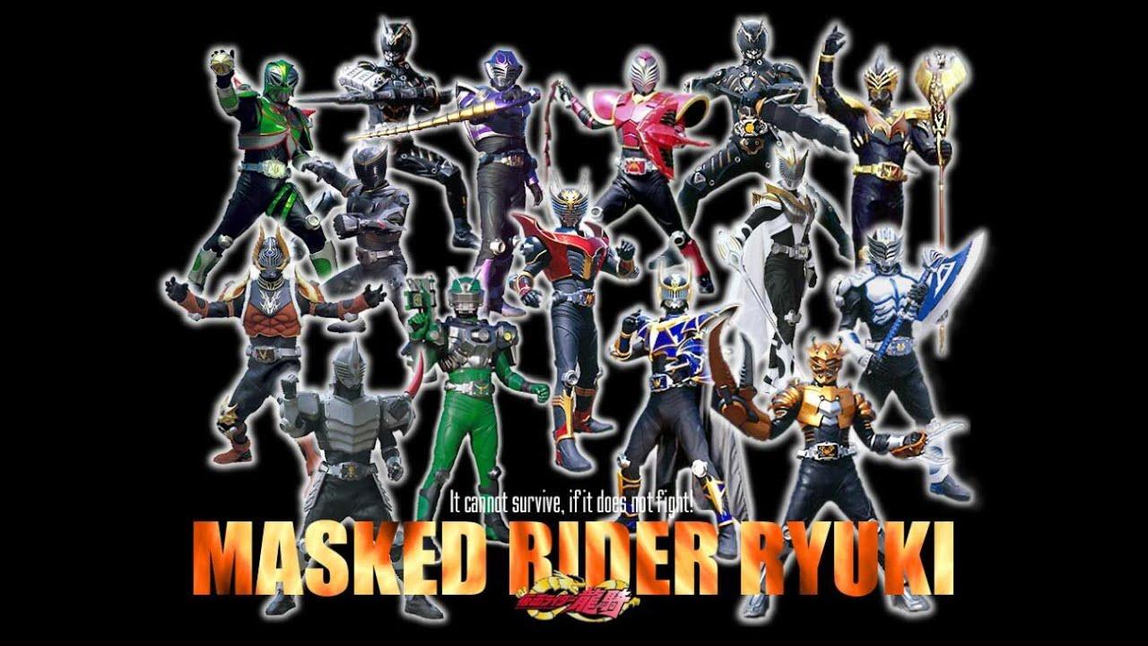 【仮面ライダー龍騎 登場ライダー】変身音集(セリフつき) Kamen Rider Ryuki Henshin sound