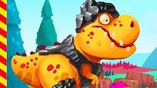 Мультик про динозавра и веселых туземцев. Охота на динозавра мультик для мальчиков.